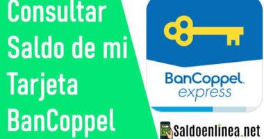 Como Consultar saldo de BanCoppel