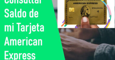 Consultar saldo American Express